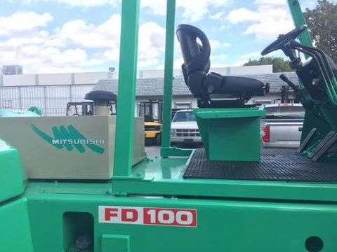 Xe nâng dầu MITSUBISHI 10 tấn